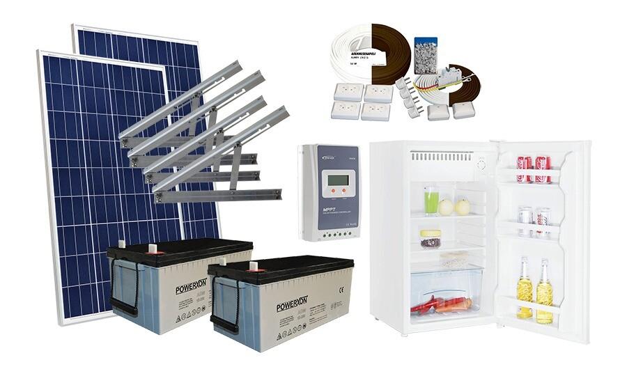Solar 365 mökkijärjestelmä