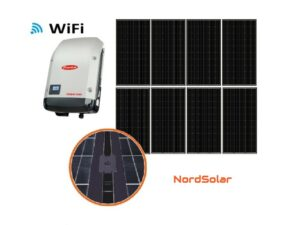 Solar 2.56kW musta yksikide aurinkosähköjärjestelmä