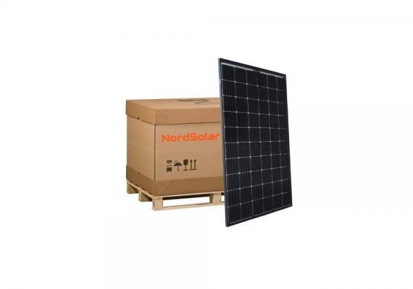 320W PERC musta aurinkopaneelilava