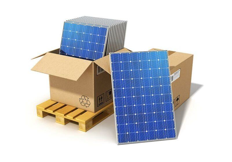 Aurinkopaneelilava