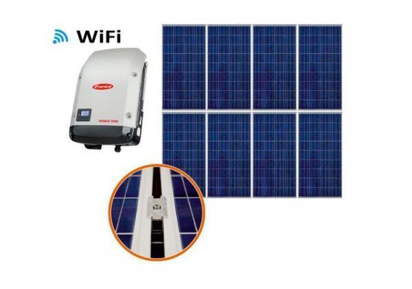 Aurinkosähköjärjestelmä 2,28kW