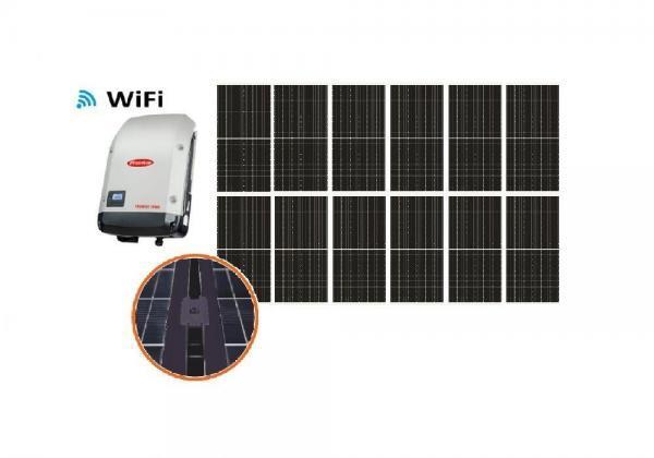 Solar 3,96kW HC yksikide aurinkojärjestelmä
