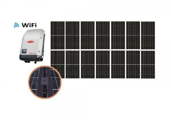 Solar 4,62kW HC yksikide aurinkojärjestelmä