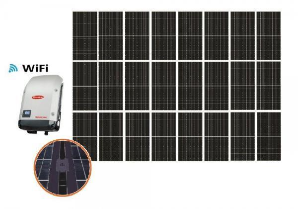 Solar 9,90kW HC yksikide aurinkojärjestelmä