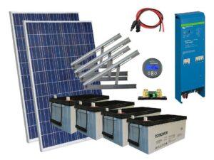Solar 1344W mökkijärjestelmä