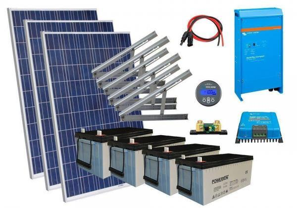 Solar 1350W mökkijärjestelmä