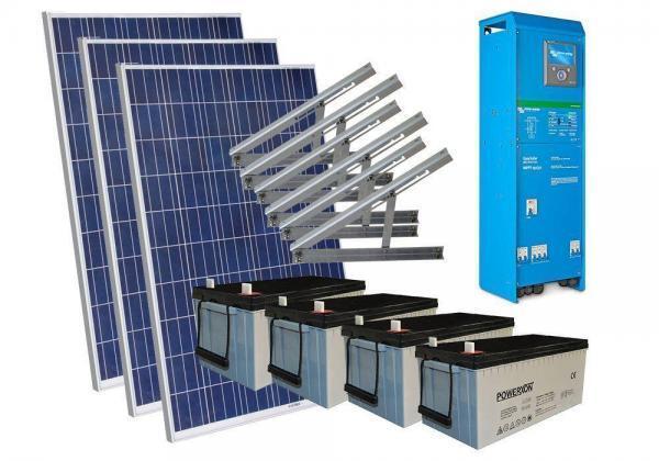 Solar 1360W mökkijärjestelmä