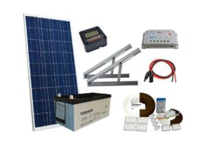 Solar 140W mökkijärjestelmä