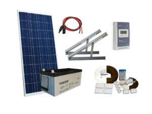 Solar 182W mökkijärjestelmä
