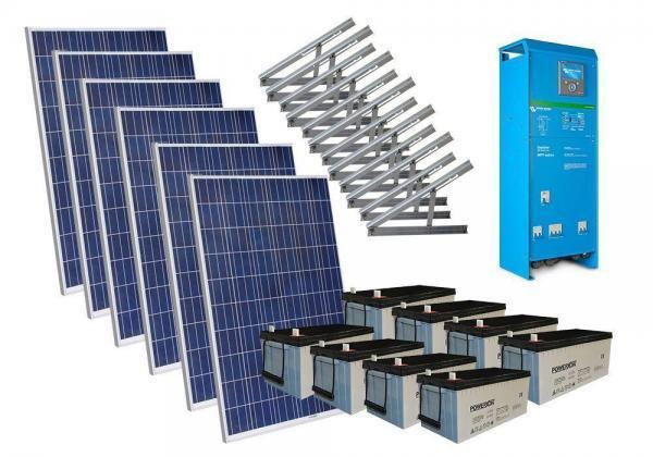Solar 2020W mökkijärjestelmä