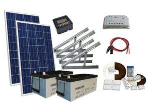 Solar 210W mökkijärjestelmä
