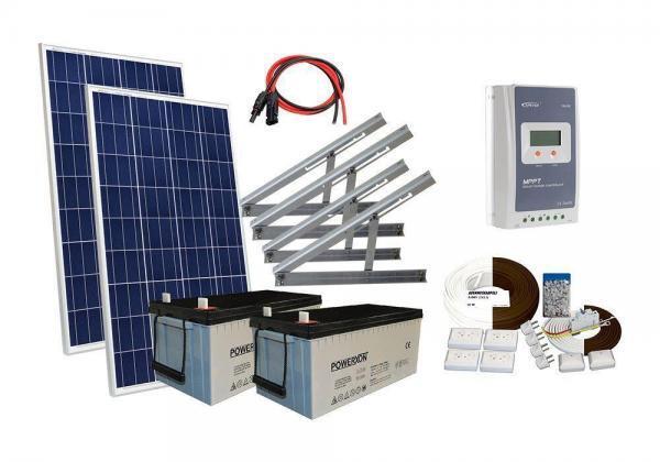 Solar 270W mökkijärjestelmä