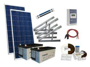 Solar 365W mökkijärjestelmä