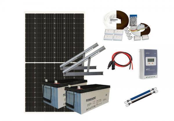 Solar 366W HC mökkijärjestelmä