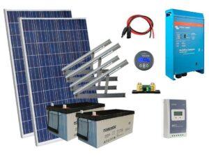 Solar 675W mökkijärjestelmä