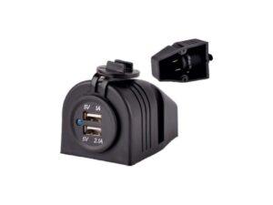 USB seinärasia 12V järjestelmään