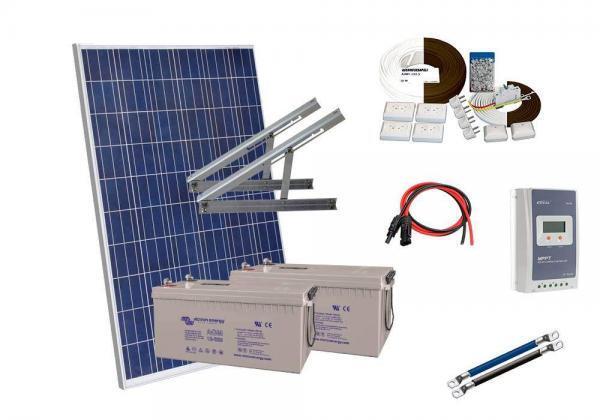 Solar 366W 2kpl victron