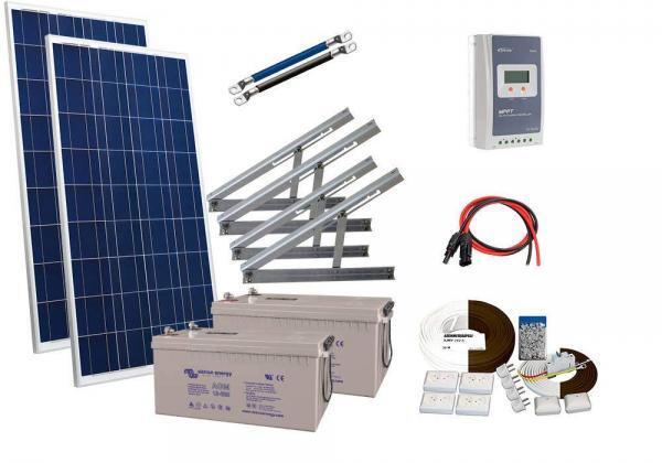 Solar 366WT 2kpl victron