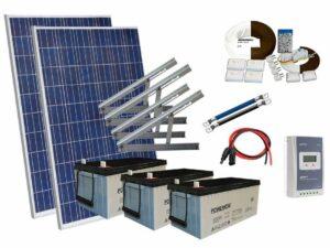 Solar 546w mökkijärjestelmä