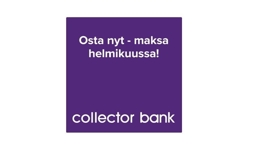 Collectorin maksuaikakampanja helmikuun 2021 loppuun saakka
